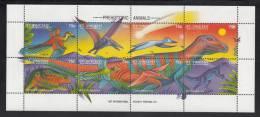 St. Vincent MNH Scott #2045 Sheet Of 8 75c Prehistoric Animals - St.Vincent (1979-...)