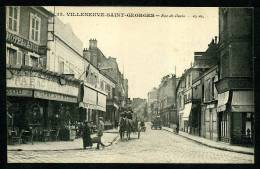 94 - VILLENEUVE SAINT GEORGES - Rue De Paris - ANIMÉE - Villeneuve Saint Georges