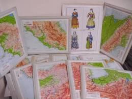MAPPA  REGIONALE  IN  RILIEVO - Autres Collections