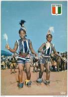 COTE D ´ IVOIRE ..-- Danse Blankouma . Vers BERK , France . Voir Verso . - Ivory Coast