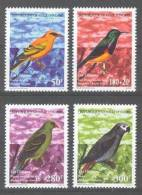 Cote Ivoire - Ivory Coast  (1999)  Yv. 1024/27  / Bird - Oiseaux - Aves - Parrot - Jacko - Vogels