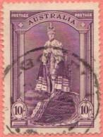 AUS SC #178  1938 King George VI, Coronation Robe CV $20.00 - 1937-52 George VI
