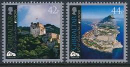 "GIBRALTAR  EUROPA 2012 ""Visit Gibraltar"" LOGO Set Of 2v** - Europa-CEPT"