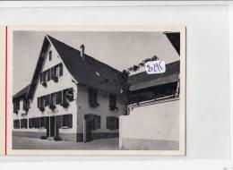 VP -  20295 -  Mittelhausen  - Carte De Visite  Hôtel Restaurant Bruckmann - Cartoncini Da Visita