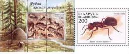 Belarus - 2002 - Red Ant, 1v+s/s - Belarus