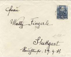 Austria - 1932 Poet Used On Single Franking To Germany - Briefe U. Dokumente