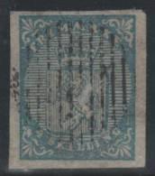 NORUEGA 1855 - Yvert #1 - VFU - Norvège