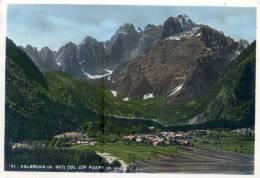 VALBRUNA (Udine). Panorama. ALPI GIULIE. Vg. C/fr. 1953. - Udine