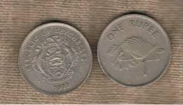 SEYCHELLES - 1 Rupia 1992  KM50.2 - Seychelles