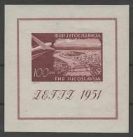 YUGOSLAVIA 1951 - Yvert #H4 - MLH * - Yugoslavia