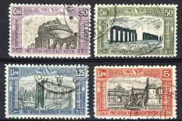 Regno VE3, SS 46 Milizia 2a Emissione, N. 220-223, Annulla Di Favore Cat. € 140 - 1900-44 Vittorio Emanuele III