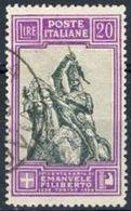 Regno 1928, SS 49 Centenario Emanuele Filiberto, N. 238, Usato, Annullo Viareggio Cat. € 900 Firma Biondi - 1900-44 Vittorio Emanuele III