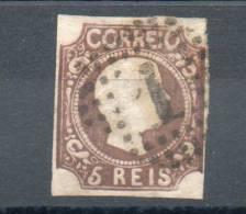 Portugal. 5 Reis Non Dentelé - 1855-1858 : D.Pedro V