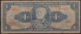 Brazil Banknote Of 1 Cruzeiro - Brasil