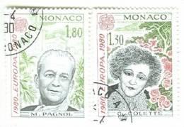 Monaco CTO Set - Europa-CEPT