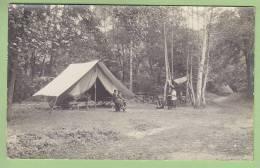 CHAMARANDE, Carte Photo : Tente Des Cheftaines. Scouts De France. Années 1920. 2 Scans - Scoutisme