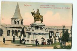 Budapest : Szent Istvan Szobor. 2 Scans - Hongrie