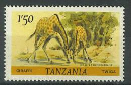 VEND BEAU TIMBRE DE TANZANIE N° 168C , DENTELE 14 X 14 1/2 , NEUF XX !!!! (a) - Tanzania (1964-...)