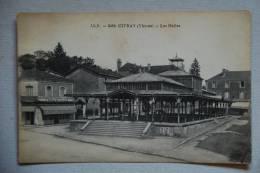 CIVRAY.Les Halles     86400 - Civray