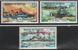 WALLIS & FUTUNA 1978 - Yvert #210/12 - MNH ** - Wallis Y Futuna