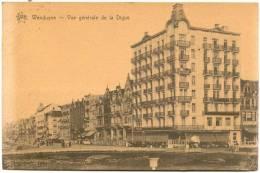WENDUINE-VUE GENERALE DE LA DIGUE-VERZONDEN 1928-UITG.DE GRAEVE-GENT - Wenduine