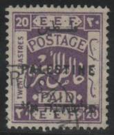 PALESTINA 1922/28 - Yvert #62 - VFU - Palestina