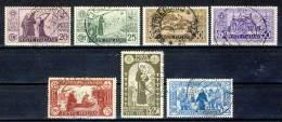 Regno VE3, 1931, SS 59 Centenario S. Antonio N. 292-298 , Usati (298 Firmato Biondi) Cat. € 500 - 1900-44 Vittorio Emanuele III