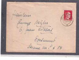 DE98   -  GERMANY POSTAL HISTORY  -   COVER   3.1.1943   GEHREN - Briefe U. Dokumente