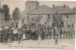 Carte  Postale Ancienne De THIN LE MOUTHIERS - Francia