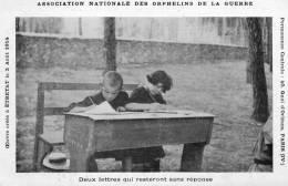 CPA  ETRETAT  1914 . ASSOCIATION  NATIONALE  DES  ORPHELINS  DE  LA  GUERRE - Etretat