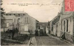 CERCAY COMMUNE DE VILLECRESNES LA GRANDE RUE - Villecresnes