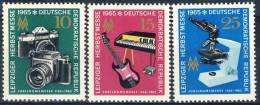 """1965 GDR Complete MNH (**) Set Of 3 Stamps """" Herbstmesse """" Michel 1130-32 - [6] Democratic Republic"""