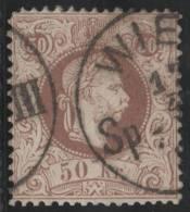 AUSTRIA 1867/80 - Yvert #39 - VFU - 1850-1918 Imperium