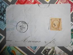 LOT 61.n°13 De Agen A Etudier - 1853-1860 Napoleon III