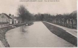 .CHATILLON COLIGNY ( Vue Du Canal De Briare ) - Chatillon Coligny