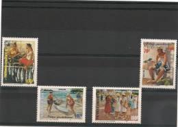 POLYNÉSIE  Année  1998  N° Y/T :574/577** - Polynésie Française