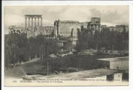 BÂALBEK , Vue Générale De L' Acropole - Lebanon