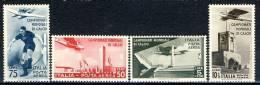 Regno 1934, 1934, Sassone N. A69-A72 MLH Cat. € 160 - 1900-44 Victor Emmanuel III.