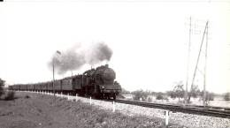 74  * Une Photo De Train, Près De Bonneville En 1950 - Bonneville