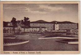 Caserta Caserma Sacchi Viaggiata 1953 - Caserta