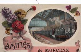 Morccenx Landes Amities De Morcenx Train En Gare - Altri