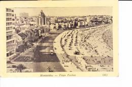 Montevideo  --  Playa Pocitos - Uruguay