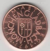 Superbe  Médaille 1977 Du Musé ABTEIBERG De MONCHENCLADBACH. Allemagne - Casino