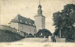Fumal - Le Château - Personnages - 190? ( Voir Verso ) - Braives