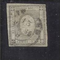 ITALY KINGDOM ITALIA REGNO 1861 VITTORIO EMANUELE II CENT. 1 USED TIMBRATO - 1861-78 Vittorio Emanuele II