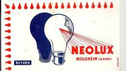 Buvard  Electricité NEOLUX à Molsheim Dans Le Bas Rhin - Electricité & Gaz
