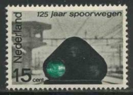 "Nederland Netherlands Pays Bas 1964 Mi 824 YT 798 Sc 425 ** Signal No. 144, Amersfoort Station / ""Zwergsignal"" - Treni"