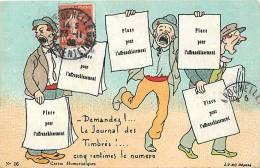 Themes Div-ref E270- Presse -journaux -journalisme - Journal  -le Journal Des Timbres -timbrés -philatelie  - - Métiers