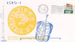 USA Scout Esro 1B 03.10.1968 - Ansehen!! - Covers & Documents