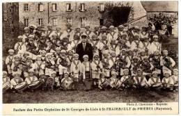 53 FANFARES DES PETIS ORPHELINS DE ST GEORGES DEL ISLE A ST FRAIMBAULT DE PRIERES - France